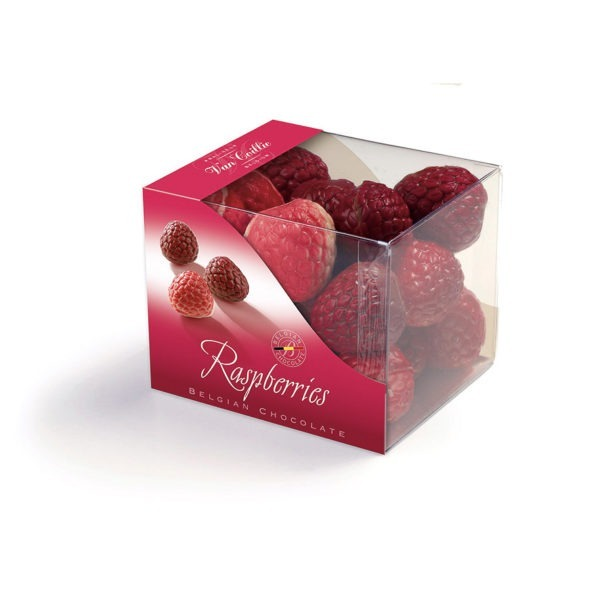 Chocolate raspberries | Chocolate | Chocolate Gift | Pralineur Van Coillie