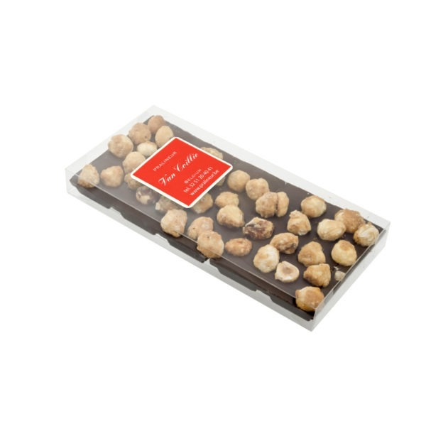 Chocolate | Chocolate bar | Tablet chocolate | Pralineur Van Coillie | nuts