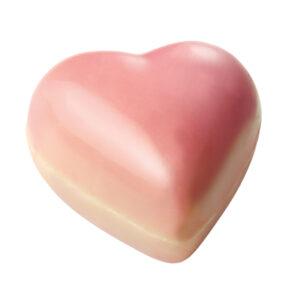 roze hartjes caramel 250g