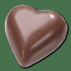 Chocolade hartjes melk/puur