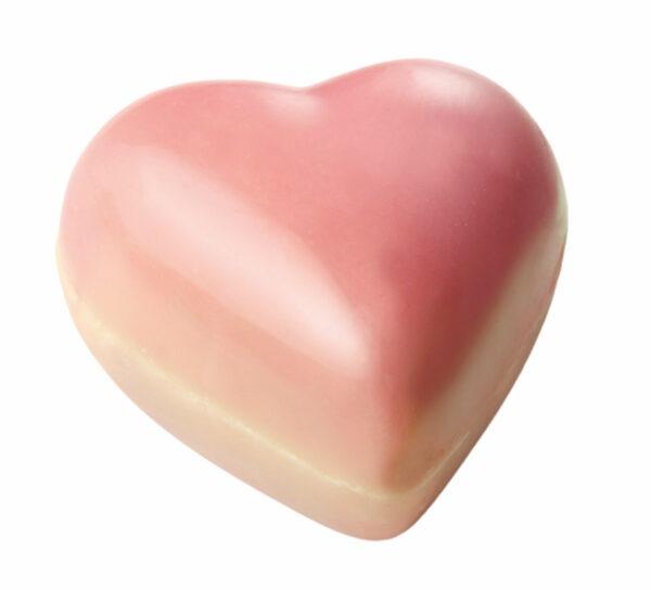 Roze chocolade hartjes